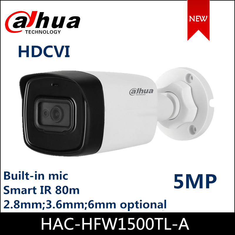Dahua Camera 5MP HDCVI Camera HAC-HFW1500TL-A 1/2.7