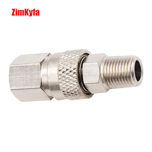 "Image 5 - Paintball PCP  Air Gun Rifle 8mm Quick Release Disconnect Coupler Fitting Male & Female Kits 1/8"" NPT Threads"