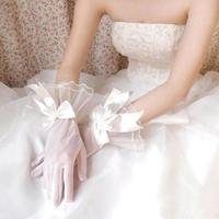 white bowknot