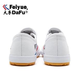 Image 3 - DafuFeiyue 331 Shaolin Kungfu toile chaussures Original hommes femmes chaussures vulcanisé baskets décontracté respirant tendance chaussures antidérapantes