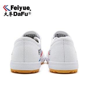 Image 3 - DafuFeiyue 331 שאולין קונג פו בד נעלי מקורי גברים נשים נעלי גופר נעלי ספורט מזדמנים לנשימה מגמת החלקה נעליים