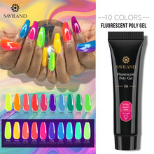 SAVILAND 15ML Quick Building PolyGel Hybrid Nail Gel Poly Polish Design Lucky Lacquer Art