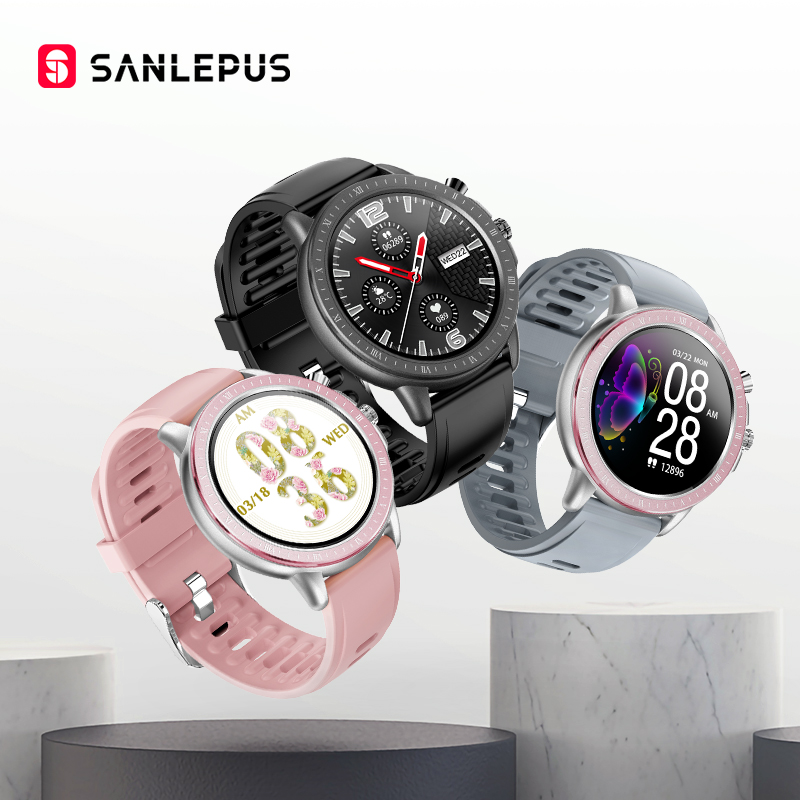 SANLEPUS 2020 NEW Smart Watch Sport Heart Rate Monitor Waterproof Watches Men Women Smart Band Clock For Android Apple Xiaomi