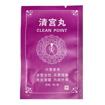 1/3/6PCS Chinese Medical Swab Tampons Female Hygiene Vagina Tampons Discharge Toxins Gynaecology Pads Feminine Hygiene Product image