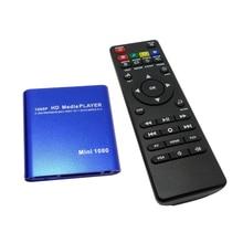 HDD odtwarzacz multimedialny Full HD 1080P USB zewnętrzny odtwarzacz multimedialny z HDMI SD mediów uchwyt na tv box MKV H.264 RMVB WMV HDD odtwarzacz 21