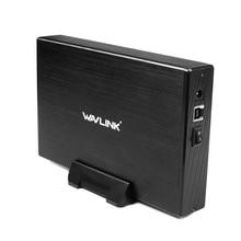 3,5 дюймов USB 3,0 на SATA внешний корпус жесткого диска чехол алюминиевый Wavlink для 3,5 дюймов SATA I/II/III HDD SSD Поддержка UASP
