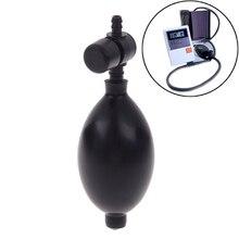 Esfigmomanómetro médico, Bola de presión arterial, accesorio de Tractor Cervical, válvula de bomba de globo de inflado de aire de látex