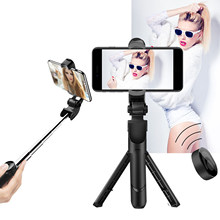 Selfie Stick Phone Tripod Extendable Monopod With Bluetooth Remote 3 In 1 Phone Tripod For Smartphone Selfie Stick