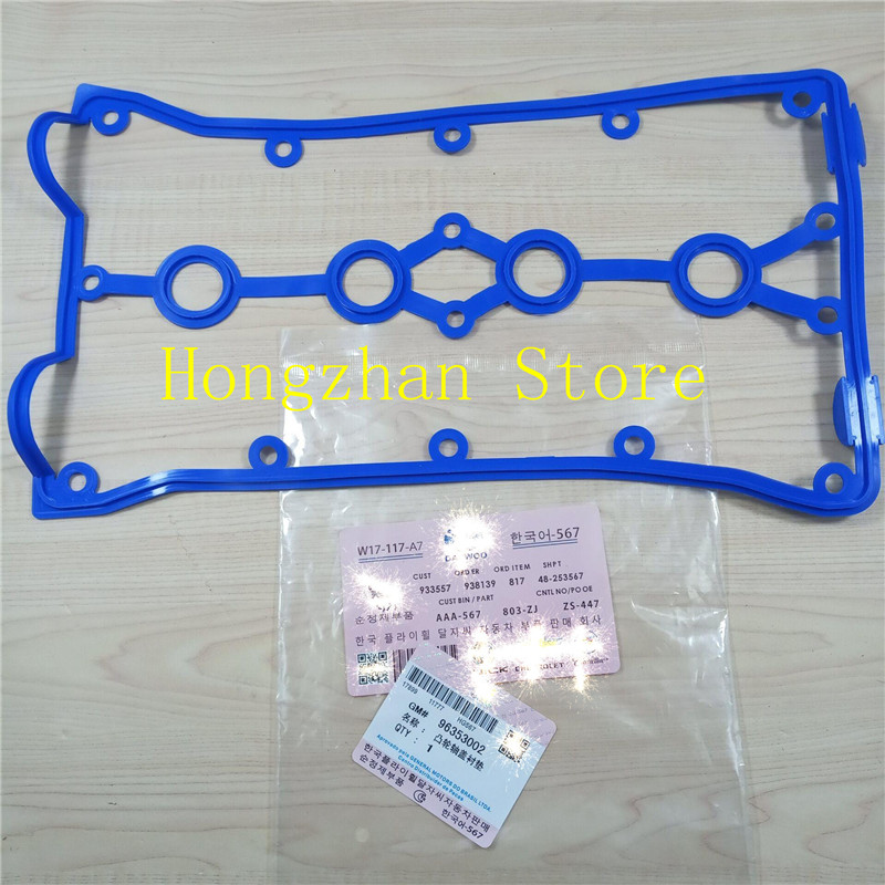 Aluminum Cover Valve Cover Gasket For Buick Excelle 1.6 CHEVROLET AVEO NUBIRA WAVE DAEWOO KALOS TACUMA