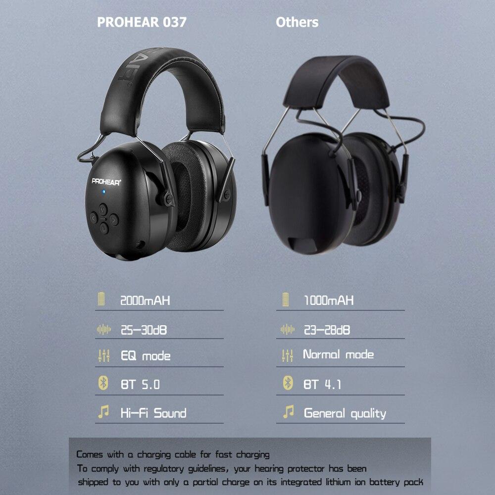Электронная гарнитура 5,0 Bluetooth наушники объемного защита ушей Беспроводной наушники Шум шумоподавления зарядный для музыки съемки-3