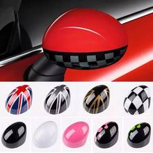 For Mini Cooper R50 R52 R53 Rearview Side Wing Mirror Cover Caps Right Steering Car Styling Accessories