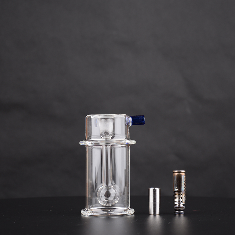 Mini Bong – Bubbler water filter with stainless sdapter for DynaVap THE