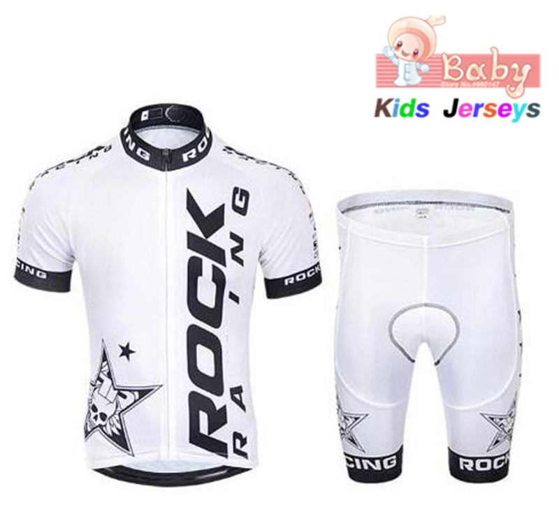2020 Rock Child Cycling Jersey Set Girl Short Sleeve Cycling Shirt Boys Bike Bicycle Clothes Clothing Ropa Ciclismo Sportswear|Cycling Sets| |  - title=