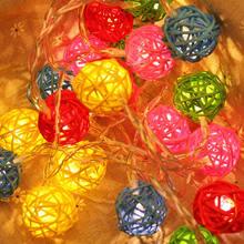 Струнный светильник s Рождественский Декор шар для рождественской