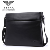 men top grade genuine leather shoulder bag JOSEPHAMANI Brand messenger bag New bolsa feminina free shipping