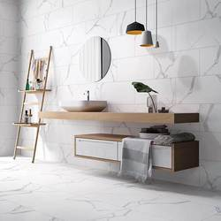 Foshan полностью керамическая джазовая Белая Мраморная гостиная 300x600 старый кирпич простая кухонная настенная плитка щетка для стекла