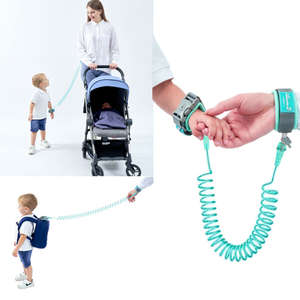 Newborn Baby Harnesses Traction-Rope Kids Leashes Wrist-Link-Lock Anti-Lost