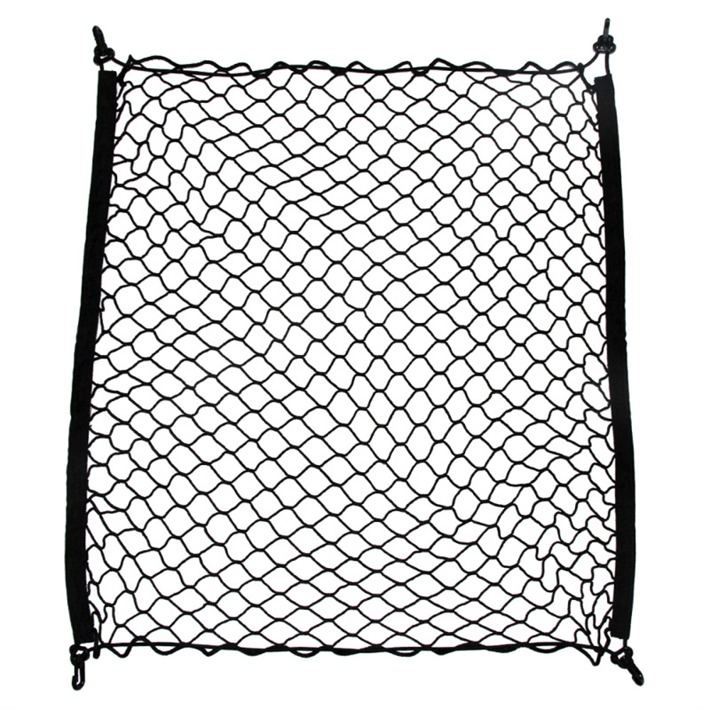 Image 2 - 2018 new ho Car Trunk Cargo Mesh Net Luggage For mazda cx5 peugeot 207 peugeot 308 tucson tiguan 2017 seat leon 2 accessories-in Car Stickers from Automobiles & Motorcycles