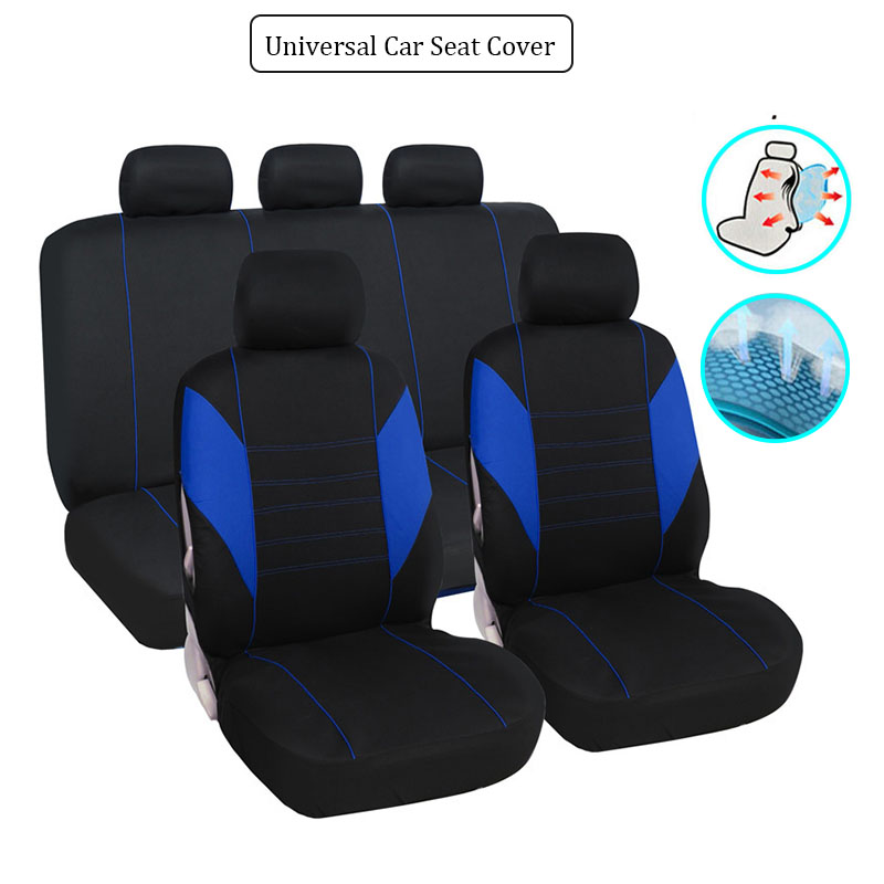 Car <font><b>Seat</b></font> <font><b>Cover</b></font> Set Universal Airbag Compatible for <font><b>Honda</b></font> <font><b>Accord</b></font> 7 2003 <font><b>2007</b></font> Civic 10th 2006 2008 2011 2017 2018 2019 Crv 2008 image