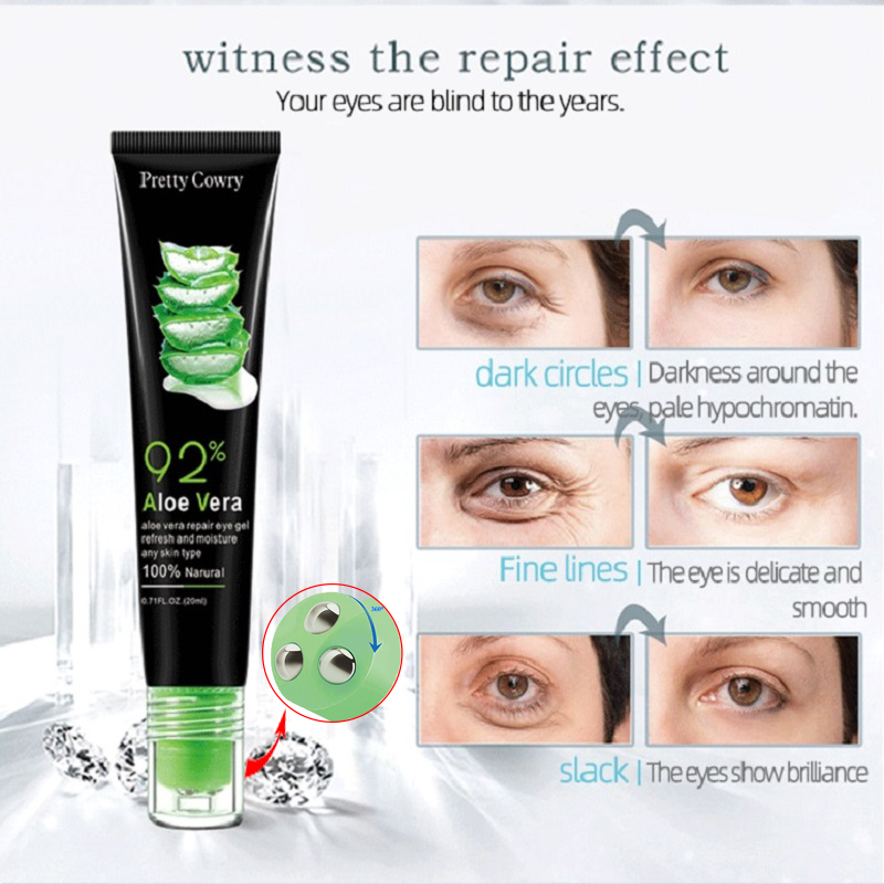 Pretty Cowry Eye Cream Peptide Collagen Serum Anti-Wrinkle Anti-Age Remover Dark Circles Eye Care Against Puffiness And Bags