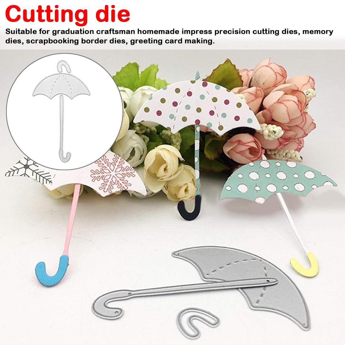 METAL CUTTING DIES Build Up Umbrella Cut Scrapbooking Mould Die Cut Stencils DIY