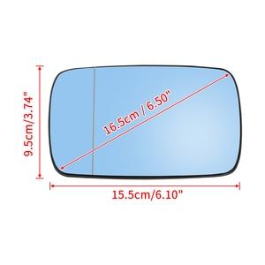 Image 3 - X Autohaux 1 Pair Side Mirror Glass with Backing Plate Heated for BMW E39 E46 320i 330i 325i 525i