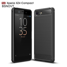 For Sony Xperia XZ4 Compact Case Silicone Anti-knock Bumper Cover BSNOVT
