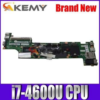 SAMXINNO para For Lenovo ThinkPad X240 placa base para ordenador portátil VIUX1 NM-A091 X240 Placa base con i7-4600U placa base CPU X240