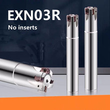 HS CNC milling cutter bar EXN03R plane milling machine ultra-high feed lathe tool LNMU0303ZER alloy double-sided insert EXN03