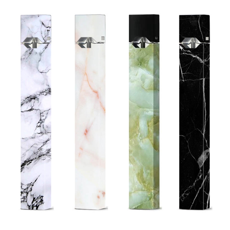 2.5D Cool Texture Sticker For Juul Stereo Film Electronic Cigarette Sticker Skin For Juul Case