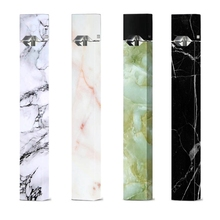 2 5D fajne tekstury naklejki dla Juul Stereo Film elektroniczny papieros naklejki skóry dla Juul przypadku tanie tanio Skin for Juul Z tworzywa sztucznego