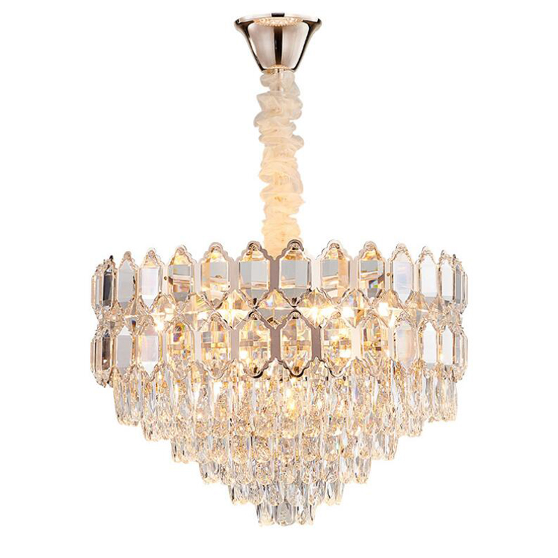 Luxury Crystal Chandelier Lighting For Living Room Bedroom Dining Room Round Crystals Home Decoration Lamp Lamps Chandeliers     - title=