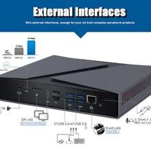 Intel core i9 8th gen integrado cartão core i9 8950hk mini computador de jogos hdmi dp 2 ddr4 slot 64gb ram bt4.0 windows 10 computador