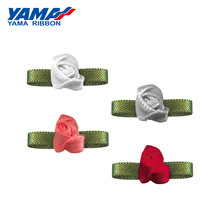 YAMA Foliage Flower Diameter 10mm±2mm Leaf 22mm±3mm 200pcs/bag Satin Bud Ribbon Hotel Decoration Gift Box Packaging home textil