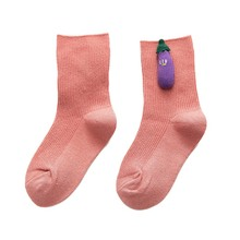 Носки для малышей Нескользящие хлопковые носки для новорожденных с героями мультфильмов осенне-зимние мягкие теплые милые носки для маленьких девочек Y \ 8