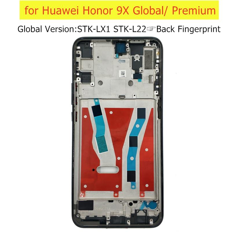 Рамка для Huawei Honor 9X, задняя панель, задняя панель
