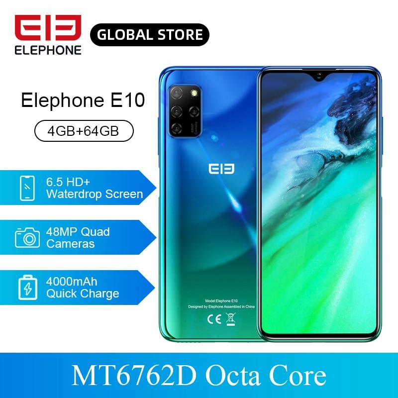 ELEPHONE E10 Mobile Phone Octa Core MT6762D 6.5
