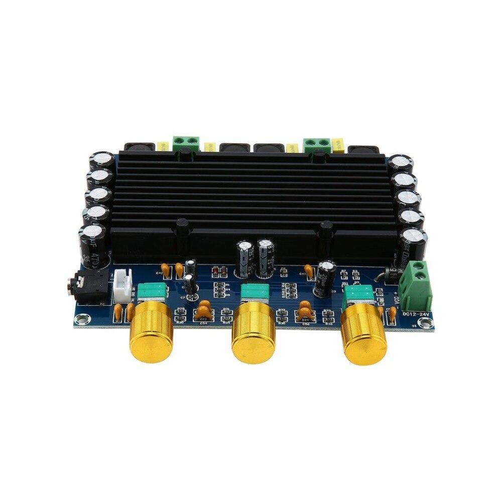 Neue Version High power Verstärker Dual Chip TPA3116D2 150W x 2 Digital Verstärker Bord 12-24V Dual kanal Stereo drop schiff