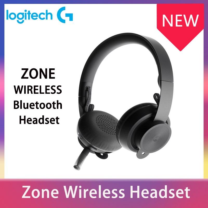 Оригинальная Беспроводная bluetooth-гарнитура Logitech ZONE Auriculares Logitech, игровые наушники, новые продукты Logitech для дома геймеров
