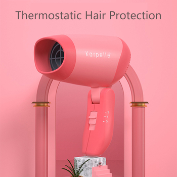 Baby Thermostat Hair Dryer Protection Hair Dryer Safety Convenient Easy To Use secador de cabelo pelo nozzles for hair dryers