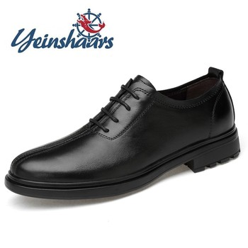 Mens Shoes Business Casual Shoes Genuine Leather Formal Shoes Top Quality Brand Designer Shoes Classic Office Oxford Dress Shoes