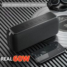 Xdobo X8 60W High Power Draagbare Bluetooth Speaker Diepe Bas Kolom Tws Stereo Subwoofer Soundbar Boombox Ondersteuning Tf Card aux