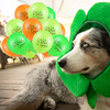 12inch Happy Saint Patrick 's Day Balloons Lucky Clover Print Balloon For Irish St. Patrick 's Day Party Supplies 5