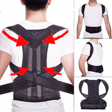 Unisex Humpback Correction Back Shoulder Orthosis Scoliosis Lumbar Support Spinal Curved Orthosis Fixation Posture Corrector adjustable shoulder abduction orthosis brace for shoulder fixation after operation free shipping