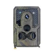 Cámara de caza PR400, 12MP, 1080P, infrarroja, visión nocturna, exploración silvestre, cámara IR, cámara de rastreo para caza, juego de exploración