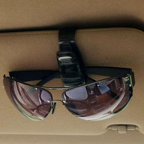 1 pcs Hot Sale Auto Fastener Cip Auto Accessories ABS Car Vehicle Sun Visor Sunglasses Eyeglasses Glasses Holder Ticket Clip Karachi