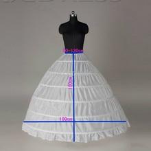 Düğün Petticoats için düğün elbisesi kabarık etek jüpon balo anagua de vestido de noiva petticoat düğün