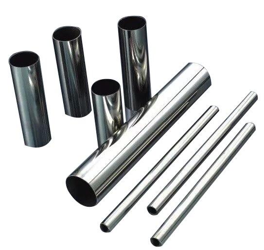 Diritta di acciaio inossidabile tubo di 2 pollici 51 millimetri 63 millimetri 76 millimetri tubo in acciaio inox kit di scarico auto ugello