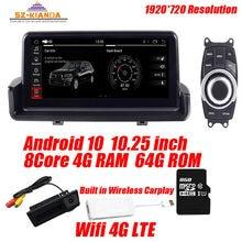 In Voorraad 4G + 64G Android 10.0 Auto Radio Gps Navigatie Voor Bmw 3 Serie E90 318i 320i e91 E92 E93 Met Wifi Bluetooth Idrive Kaart