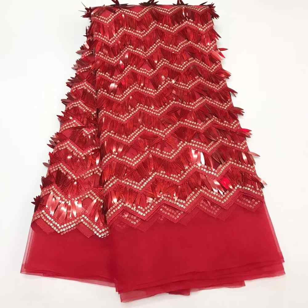 웨딩 드레스 j20632에 대 한 고품질 골드 아프리카 메쉬 레이스 패브릭 장식 조각 수 놓은 얇은 명주 그물 패브릭 메쉬 소재